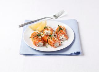 Ricetta Involtini di salmone e burrata