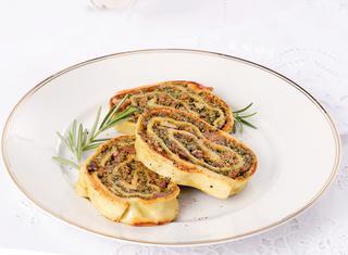 Ricetta Rotolo ripieno di carne e verdure