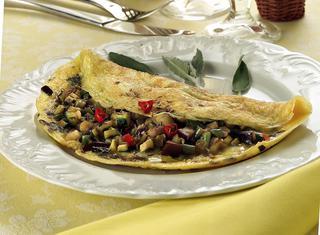 Omelette piccante