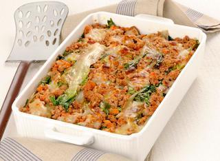 Ricetta Lasagne di scarola al ragù di carne