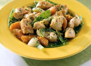 Spezzatino di tacchino e carote