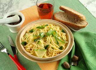 Ricetta Carbonara di zucchine alla menta