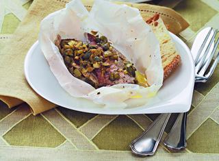 Ricetta Triglie in filetto al cartoccio