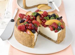 Ricetta Cheesecake con frutta fresca