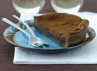 Torta morbida al cioccolato senza farina