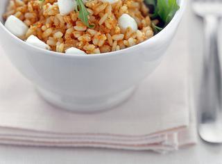 Ricetta Riso con pesto di pomodori secchi