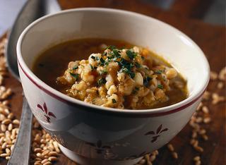 Ricetta La zuppa di farro