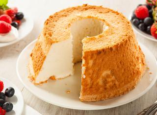Angel cake o ciambellone americano