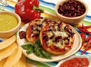 Pizzette alla messicana