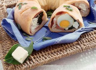 Ricetta Ciambella con prosciutto e uova