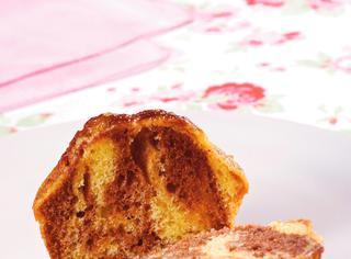 Muffin variegati al caffè