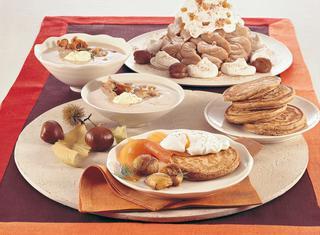 Montebianco con meringhe e marrons glacé