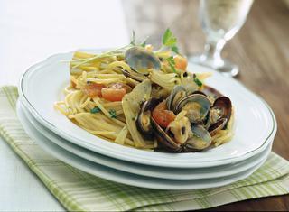 Ricetta Pasta con carciofi e vongole
