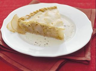 Torta di pere speziata
