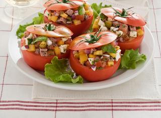 Pomodori freddi con dadolata