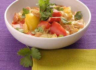 Ricetta Riso pilaf con verdure al cocco