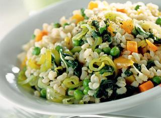 Risotto con le verdure