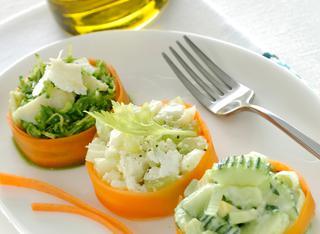 Ricetta Tris di insalate estive