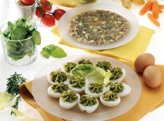 Ricetta Uova sode in salsa verde