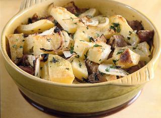 Ricetta Patate in padella allo zafferano