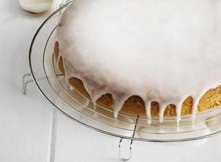 Torta di yogurt con glassa
