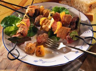 Ricetta Spiedini di carne al pangrattato