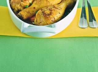 Pollo marinato alle spezie