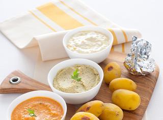 Ricetta Patatine novelle al forno con dips