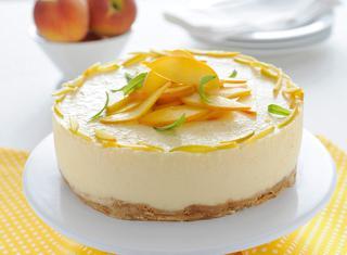 Torta light senza cottura