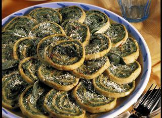 Rotolo di spinaci all'emiliana