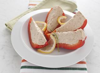 Peperone con mousse di tonno