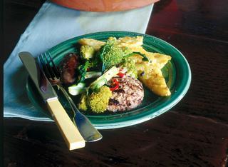 Salamelle con broccoletti piccanti