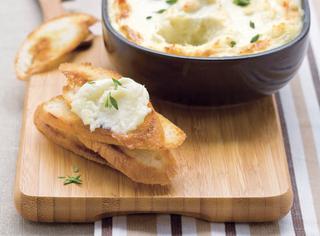 Ricetta Brandade di baccalà e patate all'aglio arrostito