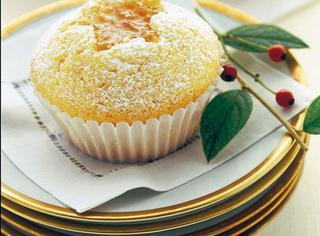 Muffin con la marmellata d'arancia e il Cointreau