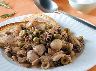 Seppie alle olive verdi