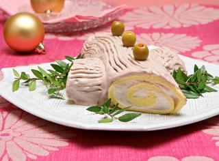 Ricetta Tronchetto ripieno di prosciutto e mascarpone