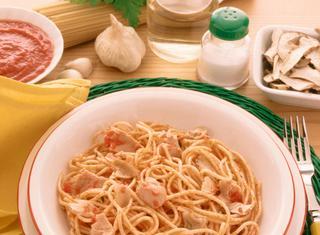 Ricetta Spaghetti col tonno