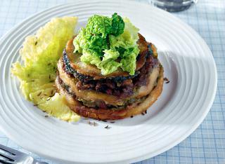 Ricetta Timballi di salamelle con la verza
