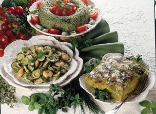 Orecchiette con pesto e gamberetti
