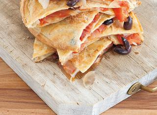 Focaccia mediterranea senza glutine