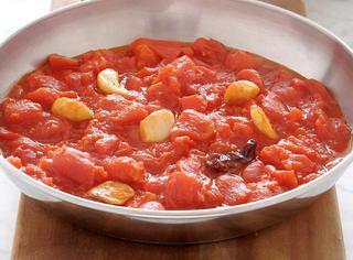 Salsa piccantissima all'aglio