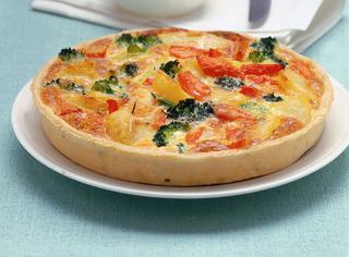 Ricetta Torta di verdure miste