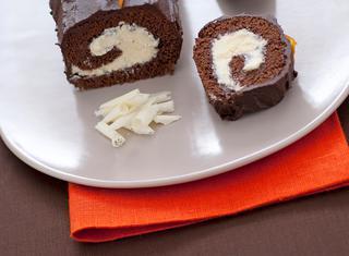 Ricetta Rotolo con crema al cioccolato bianco