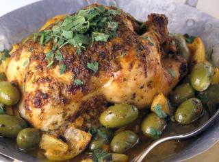 Pollo alle olive verdi e limone