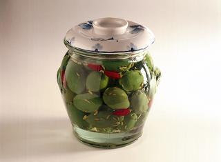 Olive verdi di Cerignola in vaso