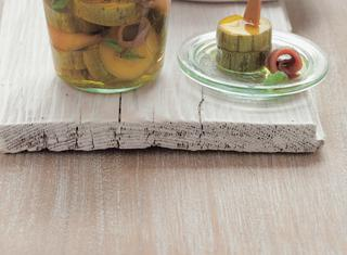 Ricetta Zucchine sott'olio con filetti di acciuga e scalogni
