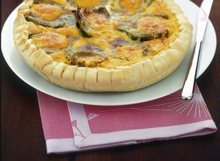 Ricetta Torta salata con crema di zucca