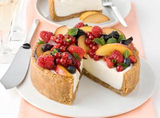 Ricetta Cheesecake alla frutta fresca