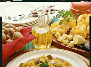 Pappardelle campagnole