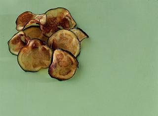 Chips di melanzane: fritto è buono